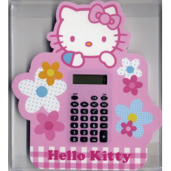 Calculatrice rose Hello Kitty