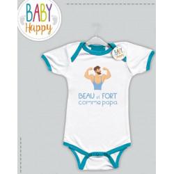 Baby Happy Body bleu Beau...