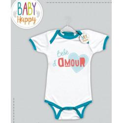 Baby Happy Body bleu Bébé...