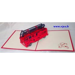 Carte 3D Caméléon Camion de...