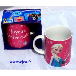 Mug Elsa Joyeux anniversaire !