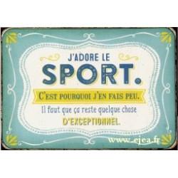 Carte postale VintageArt Sport