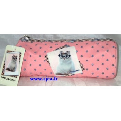 Teo Jasmin trousse ronde Chat