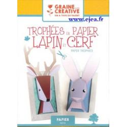 Kit Papier Trophées Lapin...