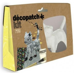 Mini kit Décopatch Chat