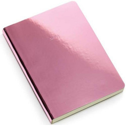 Carnet A5 Rose Gold Notes rose