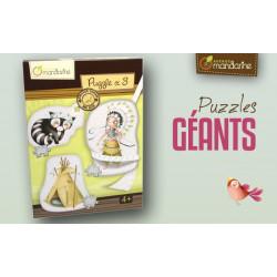 3 Puzzles géants Indiens