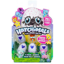 Hatchimals Pack de 4 oeufs...