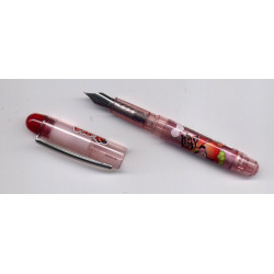 Mini stylo plume Pucca rose