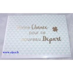 Carte double Goldstück Départ
