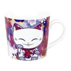 Mug Mani The Lucky Cat Violet