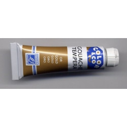 Tube de gouache 10 ml Or...