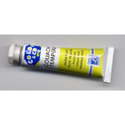 Tube de gouache 10 ml Jaune...