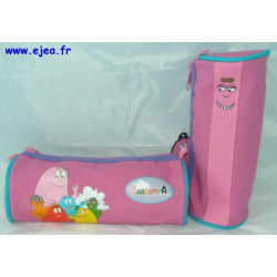 Barbapapa Trousse ronde rose