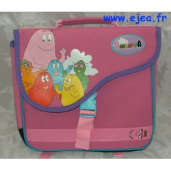 Petit cartable Barbapapa rose