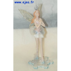 Figurine Fée hiver bras...