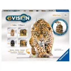 Puzzle 4S Vision Les félins...