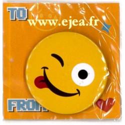 Badge Emoji Espiègle