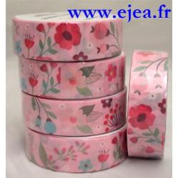 Masking tape Fleurs