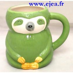 Mug Paresseux vert