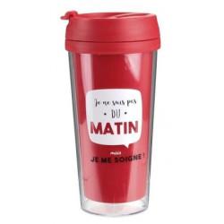 Mug isotherme Pas du MATIN