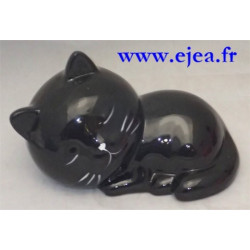 Tirelire chat noir