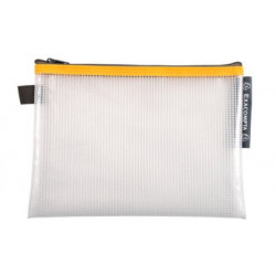 Pochette Zip A5 jaune