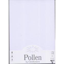 Pollen 25 feuilles A4 BLANC...