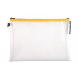 Pochette Zip A4+ jaune