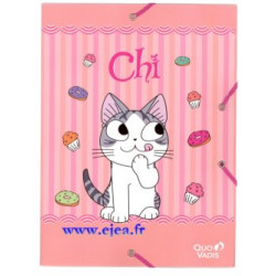 Chemise A4 Chi Une vie de Chat