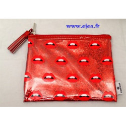 Fourre-tout Glitter Lips