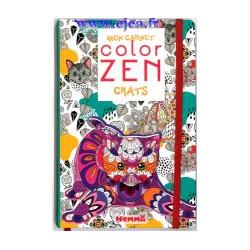 Mon carnet Color Zen Chats