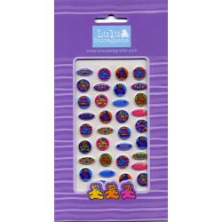 Stickers Lulu Castagnette