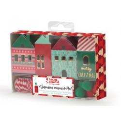 Décorations de Noël Maisons...
