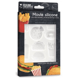Moule silicone Junk Food