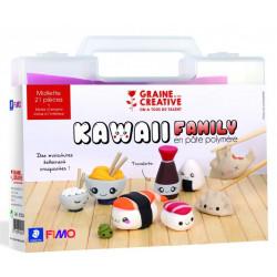 Mallette Kawaii Family en...
