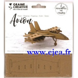 Trophée Avion en carton à...