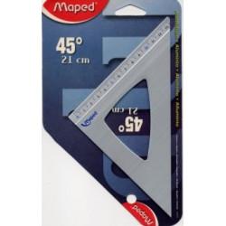 Equerre en aluminium 45° Maped