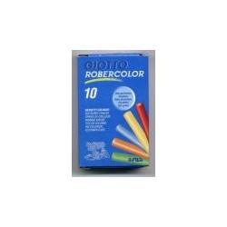 10 craies couleurs assorties