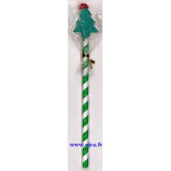 Crayon et gomme Sapin de Noël