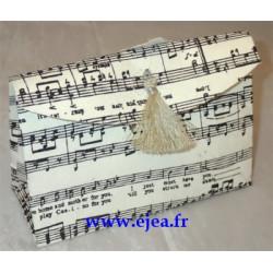 Petit sac cadeau musique...