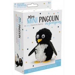 Mon mini pingouin en pompons