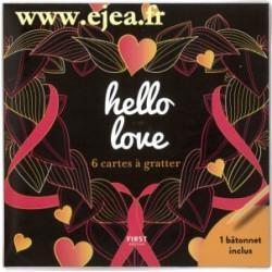 Hello Love 6 mini cartes à...