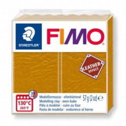 Fimo Effet Cuir Ocre 179