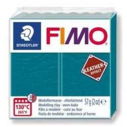 Fimo Effet Cuir Lagon 369