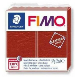 Fimo Effet Cuir Rouille 749