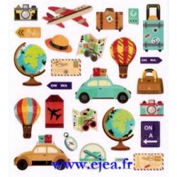 Stickers Classy En voyage