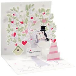Mini carte pop-up L'arbre...