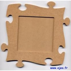 Cadre morceau de puzzle