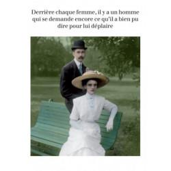Carte Rétro Fun Derrière...